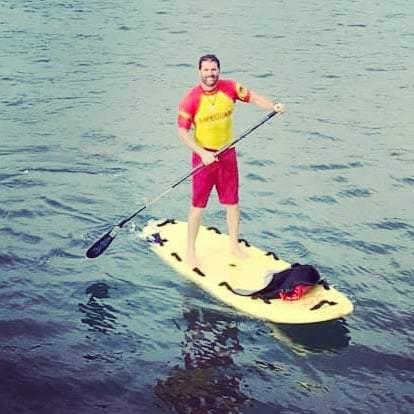SLSGB Surf Lifeguard