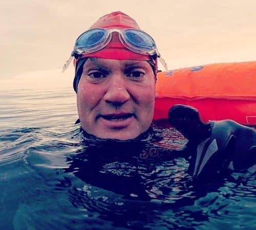 Swimming 50miles to raise £5000